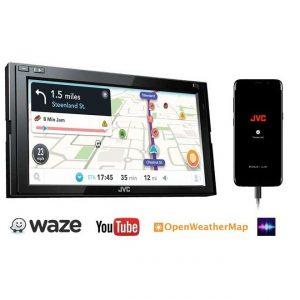 JVC KW-M540BT    USB/AUX/BT/ WAZE NAV/ JVC APP (NO CD)