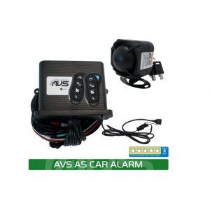 AVS A5 ALARM INSTALLED