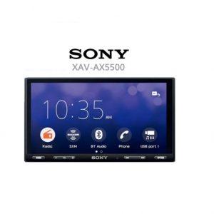 SONY XAV-AX5500  APPLE CAR PLAY/ ANDROID AUTO/ WEB LINK / BLUETOOTH