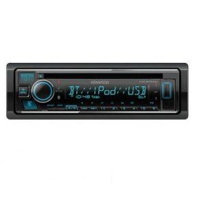 KENWOOD KDC-BT640U  CD/USB/AUX/BT    3 PRE RCA OUT